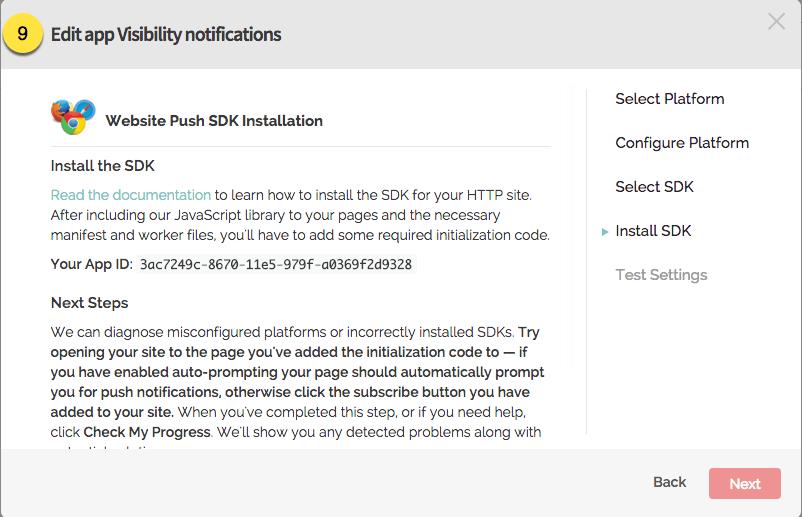 implementace kódu na web